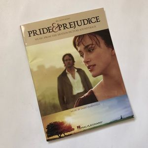 "NEW ""Pride & Prejudice"" Piano Sheet Music Book"